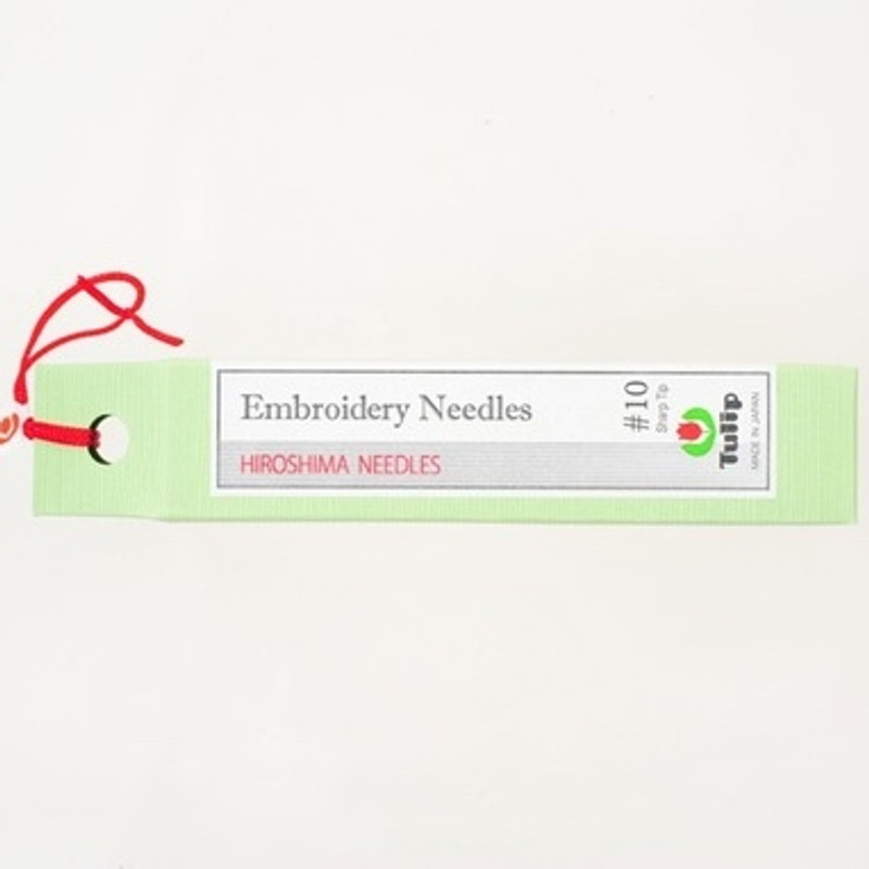 Embroidery Needles #10 Sharp Tip THN-022e