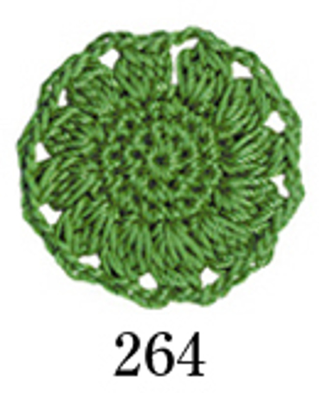 Crochet Thread Emmy Grande Colours Bright Green EGC-264