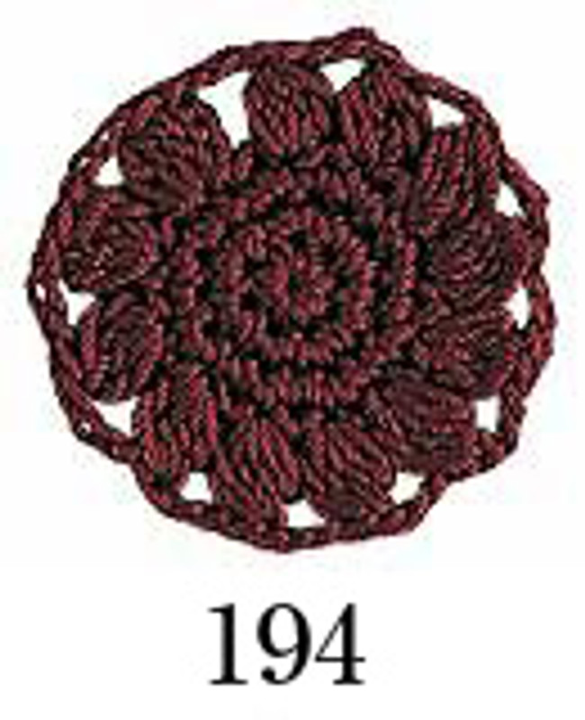 Crochet Thread Emmy Grande Solid Magenta EGS-194