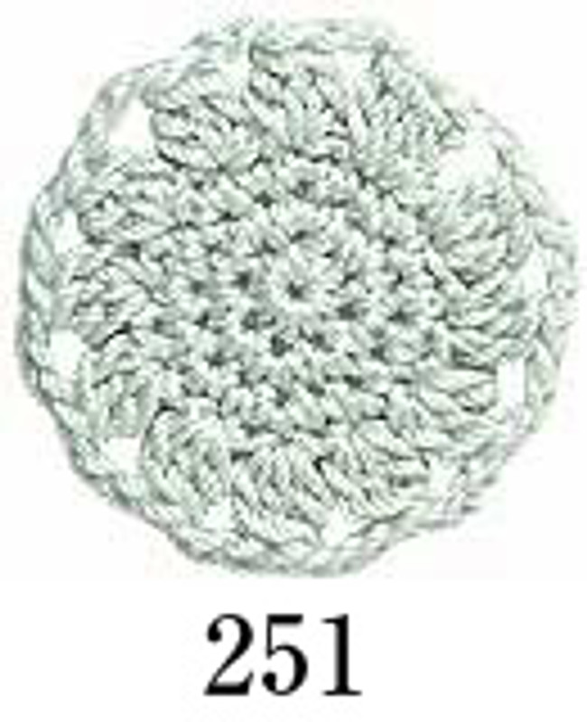 Crochet Thread Emmy Grande Solid Soft Green EGS-251