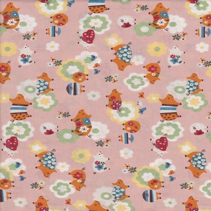 Glitter Pigs Pink FCH-0313