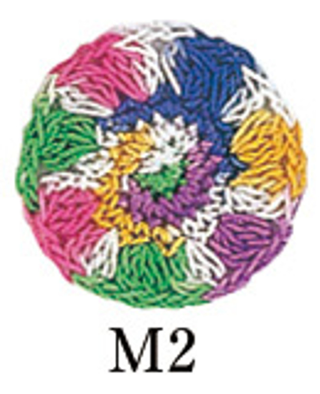 Crochet Thread Gold Label Mixed Multi Bright GL-M2