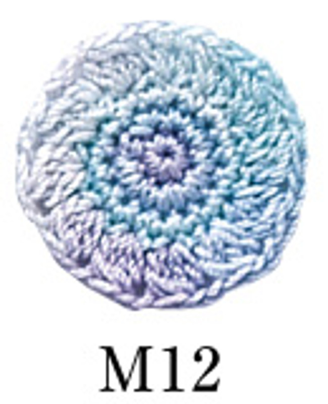 Crochet Thread Gold Label Mixed GL-M12