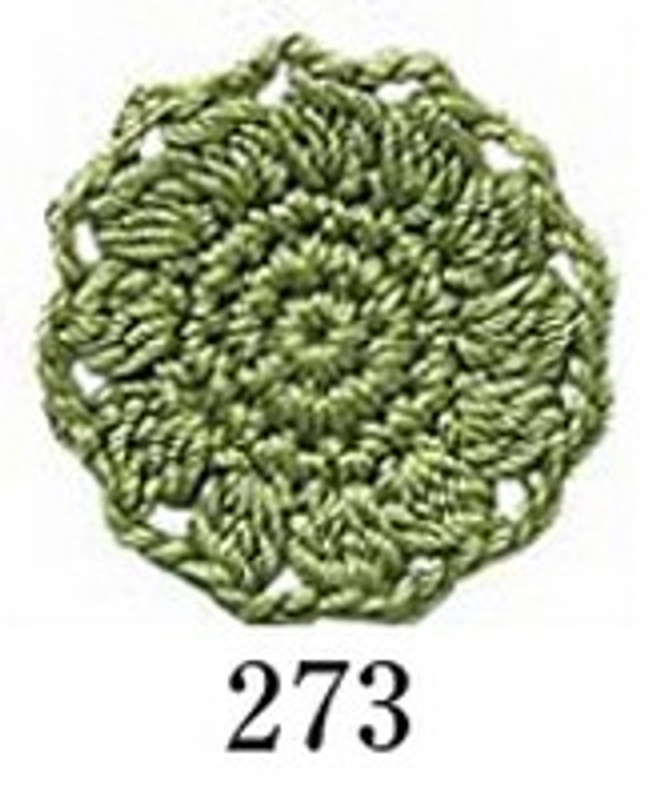 Crochet Thread Herbs Forest Green EGH-273