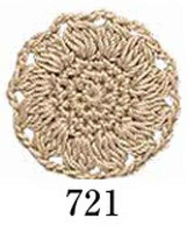 Crochet Thread Herbs Beige EGH-721
