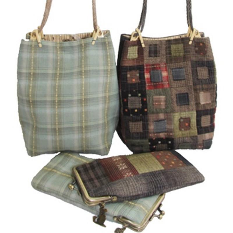 Koki Bag Pattern with Glasses Case