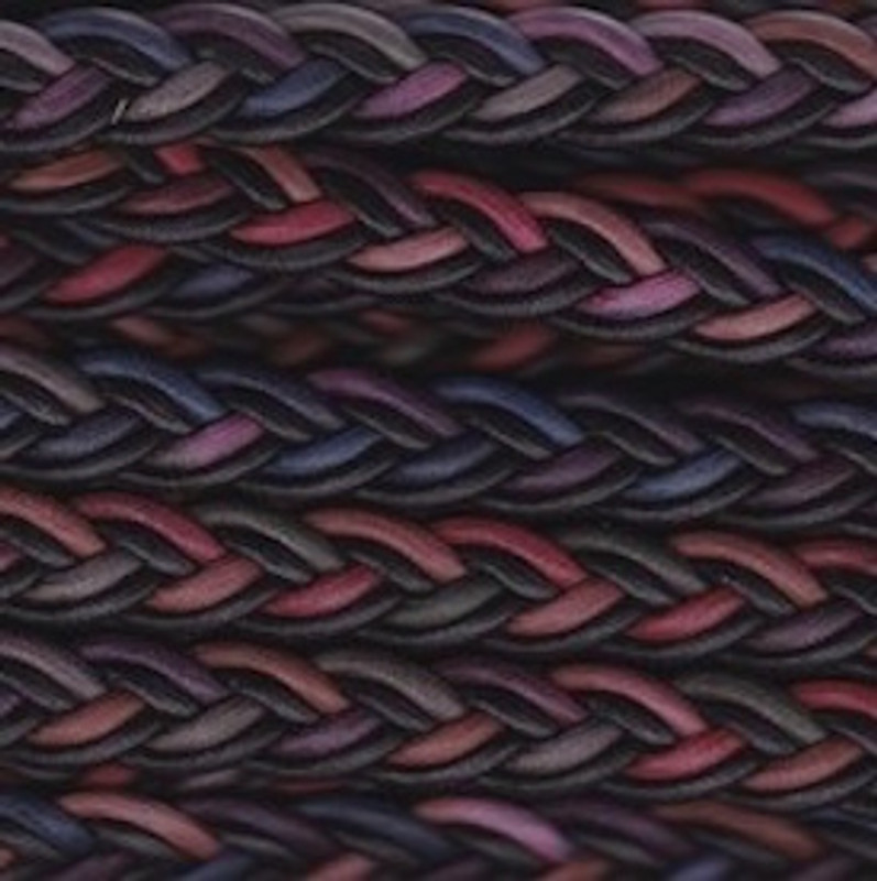 Multi Coloured Plaited Cording BT-1552-26-217