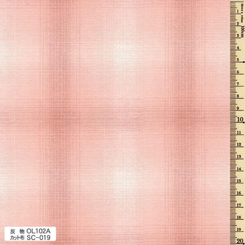 Sakizome Momen Fabric Original 102A Pink OL102A