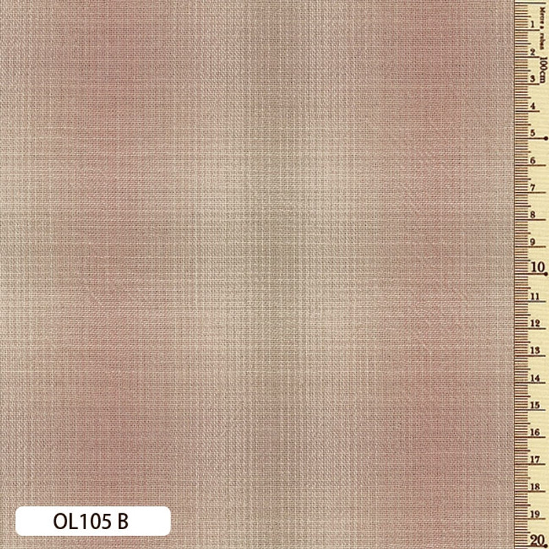Sakizome Momen Fabric Original 105B Dusty Pink OL105B