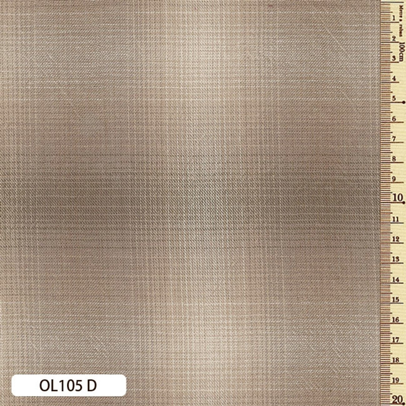 Sakizome Momen Fabric Original 105D Light Brown OL105D