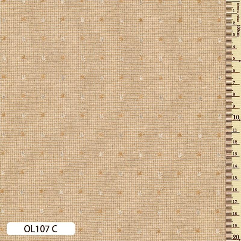 Sakizome Momen Fabric Original 107C Mustard OL107C