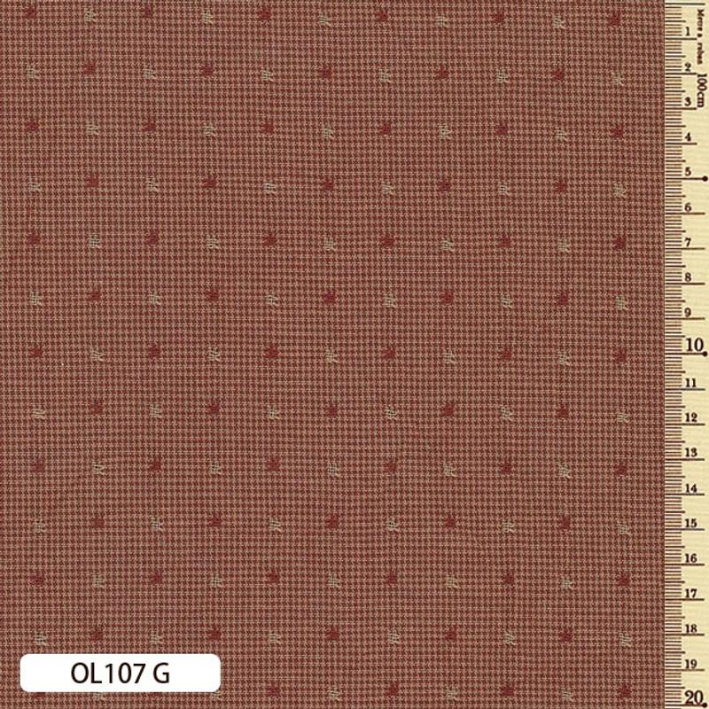 Sakizome Momen Fabric Original 107G Red OL107G