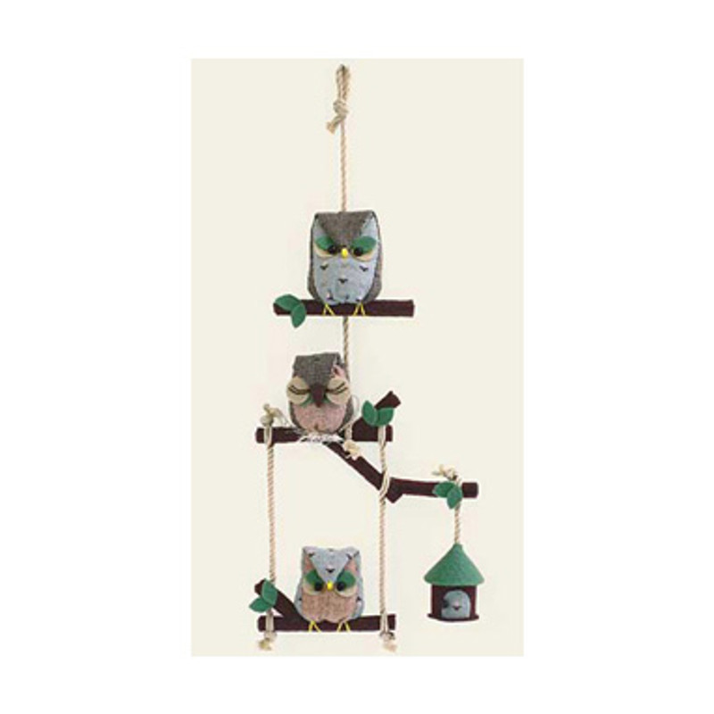 Olympus Patchwork Kit Owl Household Mobile PA-458
