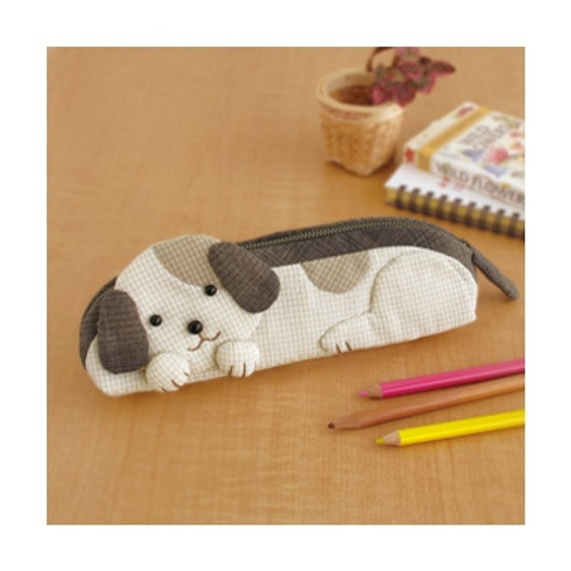 Olympus Patchwork Kit Puppy Pencil Case PA-556