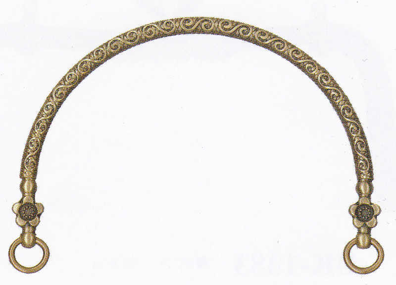 Purse Handles Antique Gold BK-1178AG