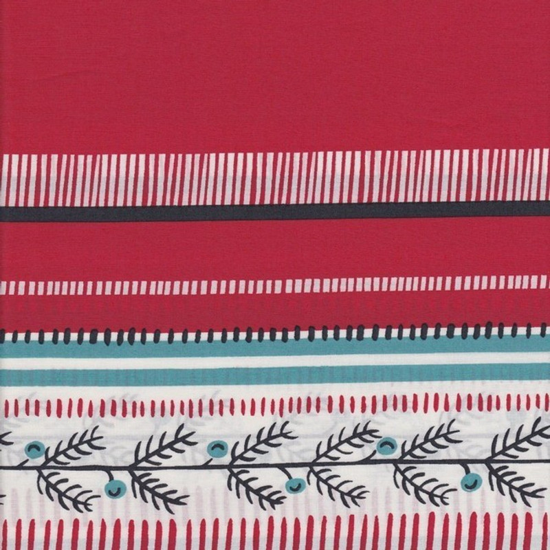 Red Cotton Print FCR-0375