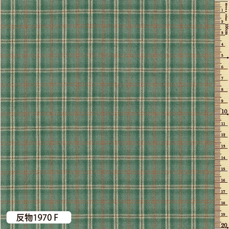 Sakizome Momen Yarn Dyed Fabric Scotch F 1970F