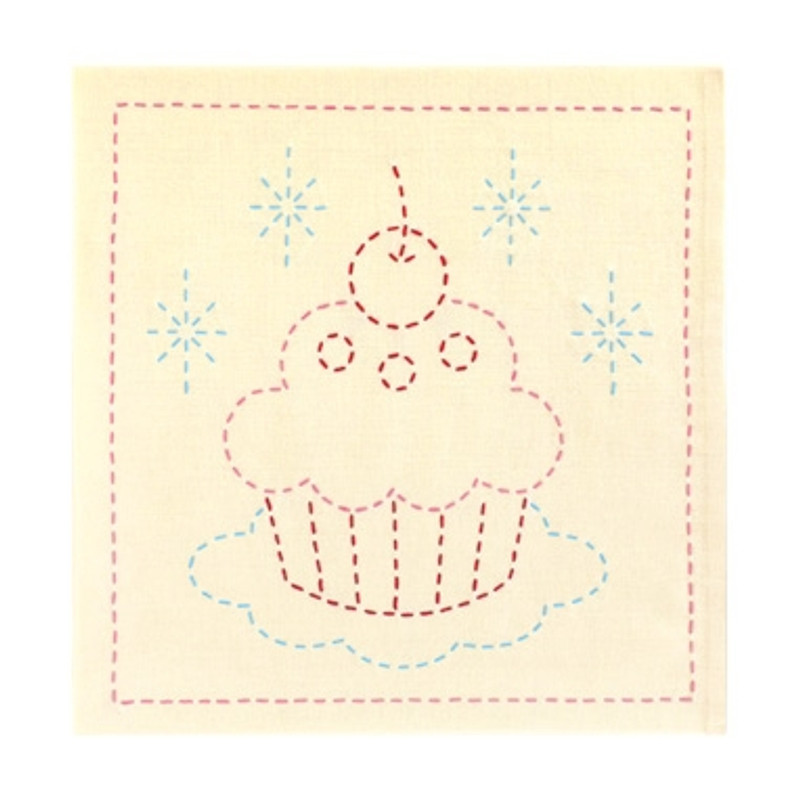 Sashiko Sampler Cupcake SSKC-278