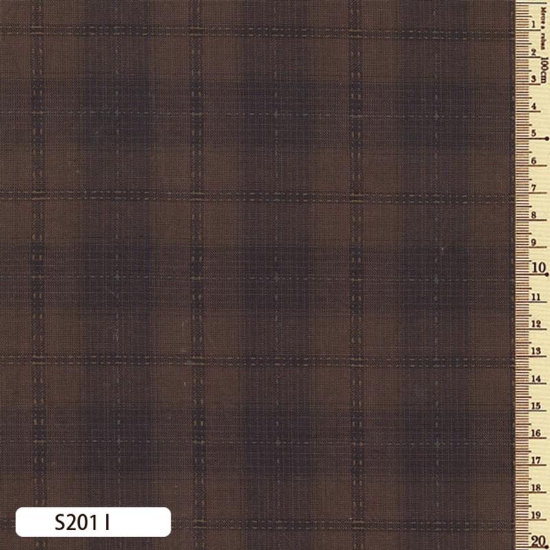 Sakizome Momen Fabric Seed Check I S201I