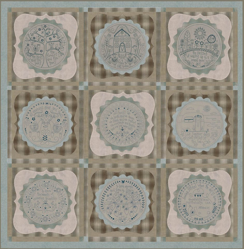 Simply Blessed Patterns 1-9 RQSB-1-9