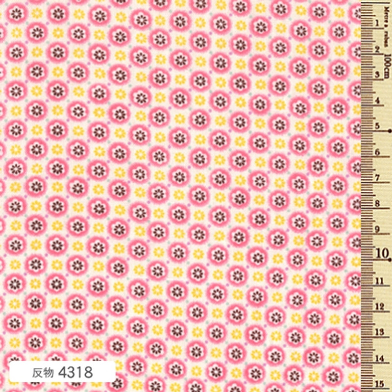 Soleil Circle Pink Blossom F-4318