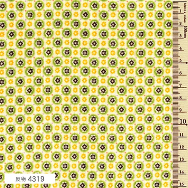 Soliel Circle Green Blossom F-4319