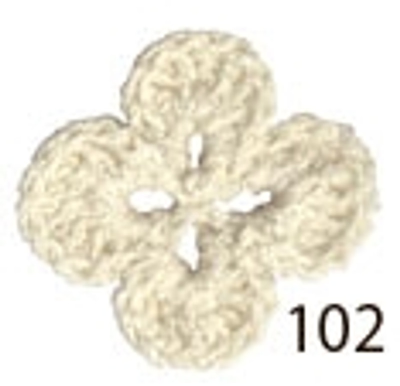 Crochet Thread Souffle Thin Off-White STN-102