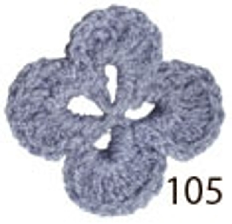 Crochet Thread Souffle Thin Purple STN-105