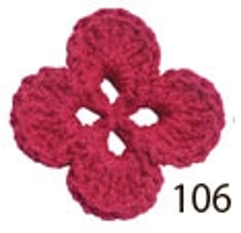 Crochet Thread Souffle Thin Raspberry STN-106