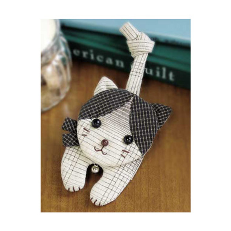 Olympus Patchwork Kit Spotted Cat Key Holder PA-412
