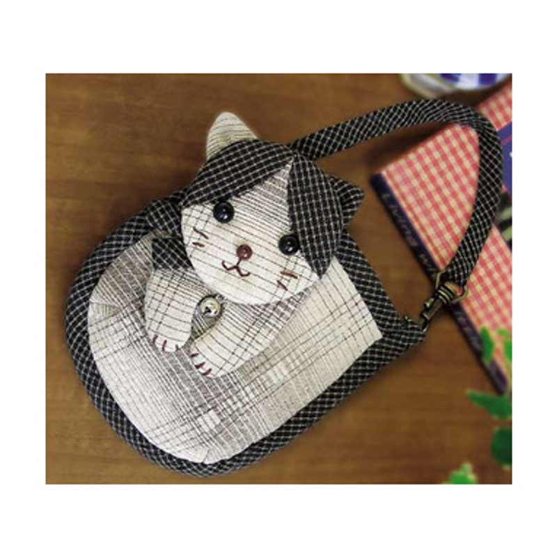 Olympus Patchwork Kit Spotted Cat Mobile Phone/Camera Pouch PA-416