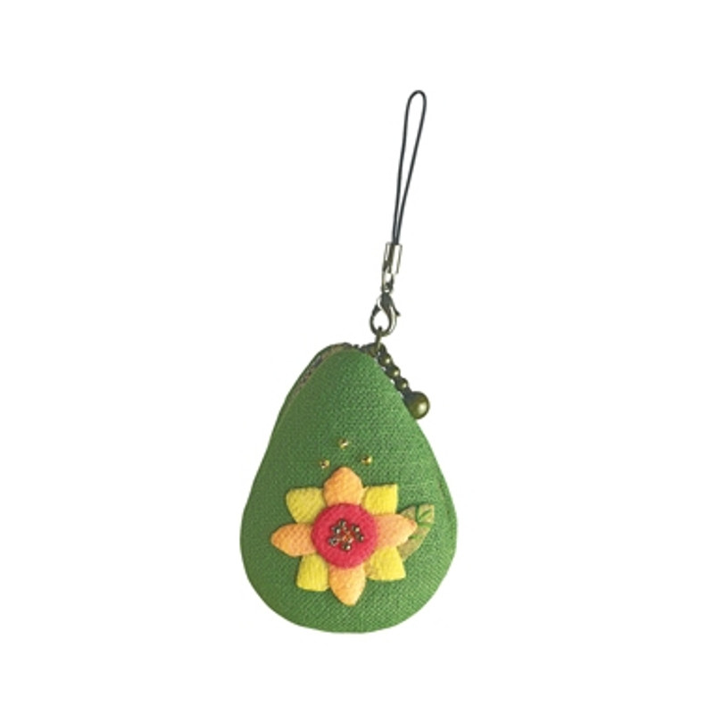 Sunflower August Macaroon Pouch
