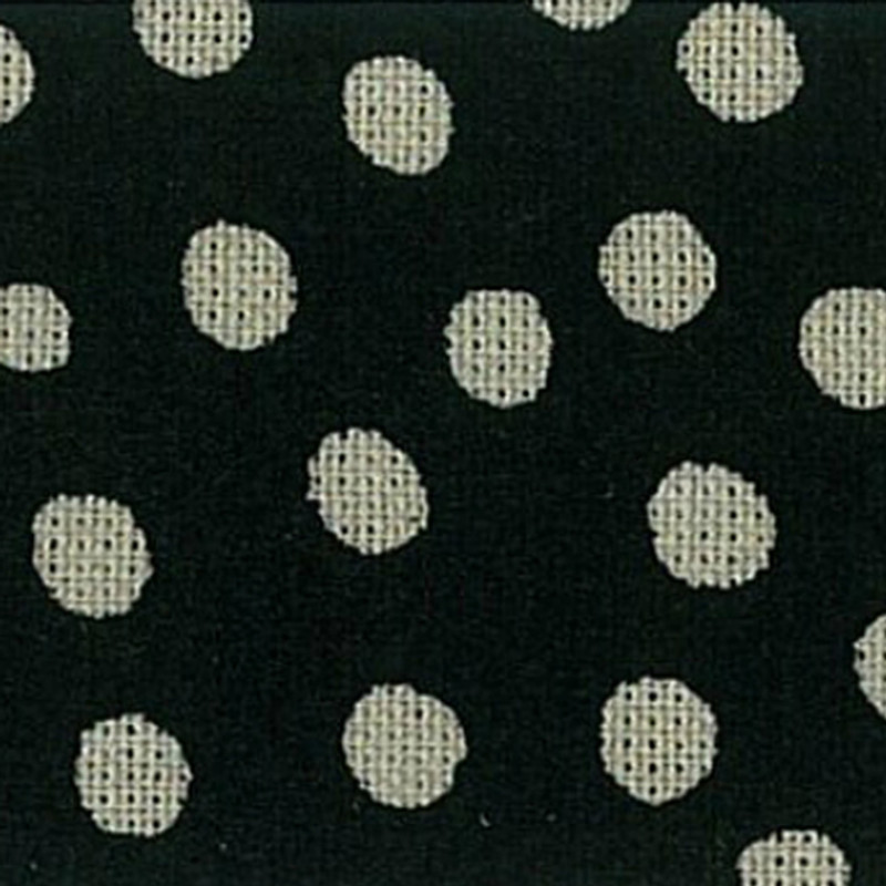 Takumi Printed Cotton Fabric Black 13N-4A