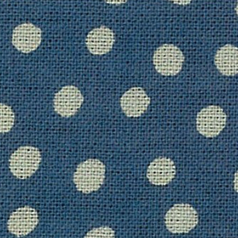 Takumi Printed Cotton Fabric Fabric Blue 13N-4C
