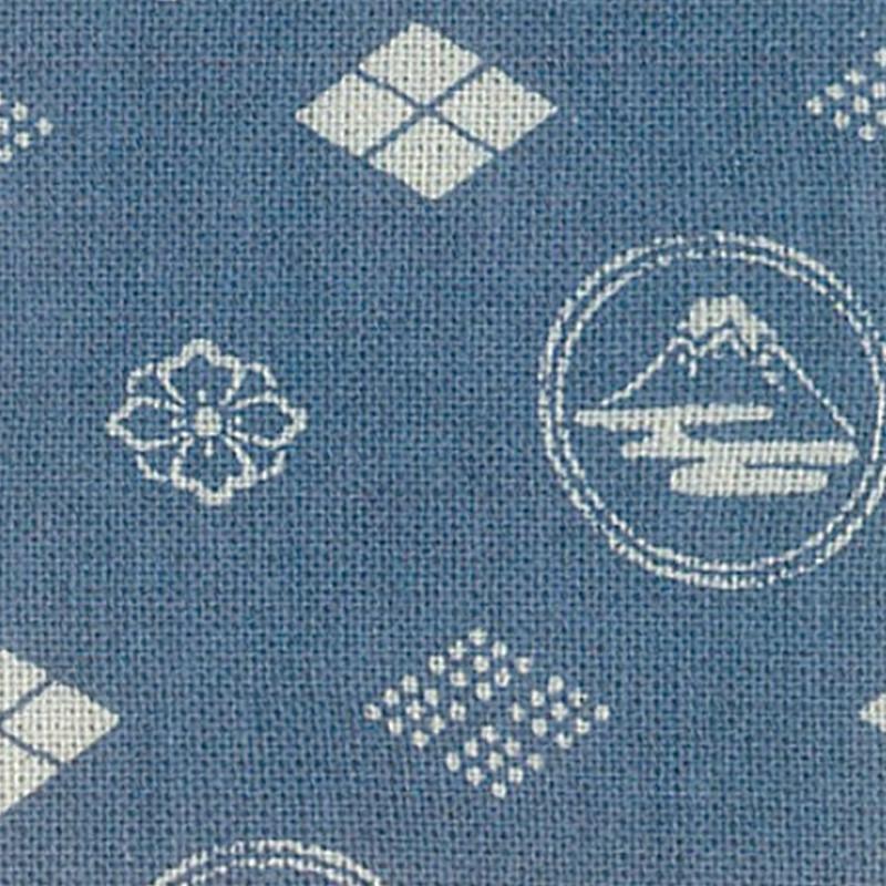 Takumi Printed Cotton Fabric Fabric Blue 13N-8C