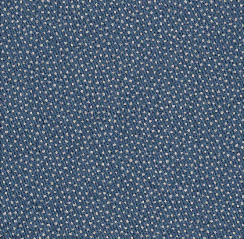 Takumi Printed Cotton Fabric Blue 14N-1C
