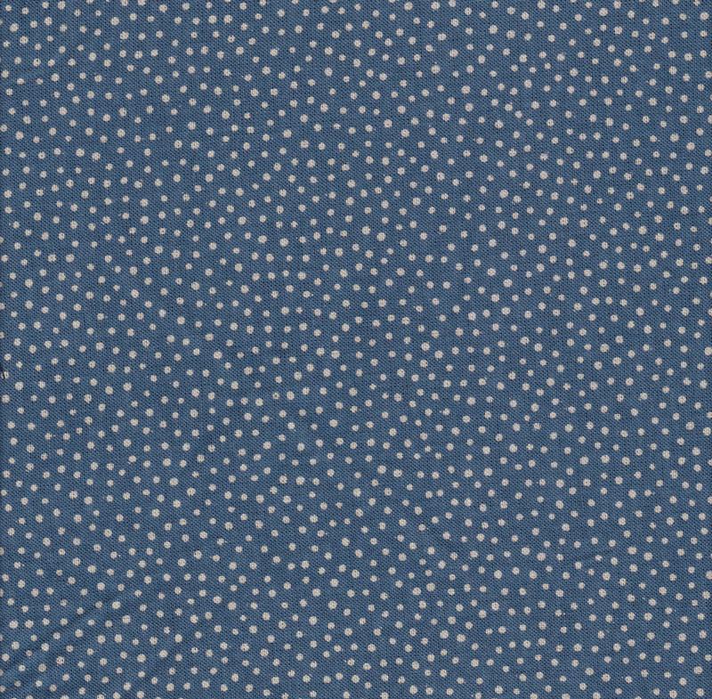 Takumi Printed Cotton Fabric Fabric Blue 14N-1C