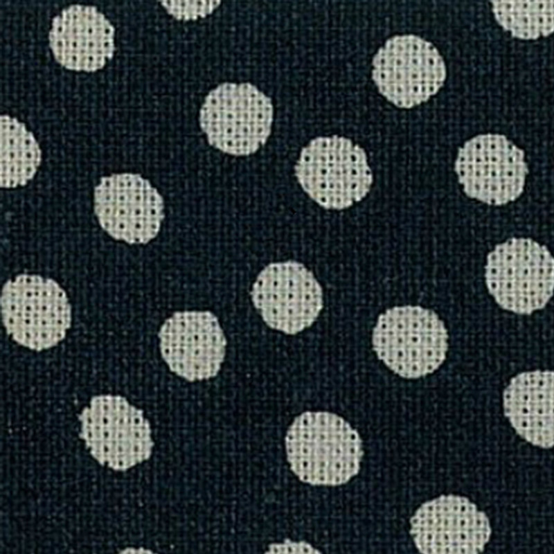 Takumi Printed Cotton Fabric Fabric Indigo 13N-4B