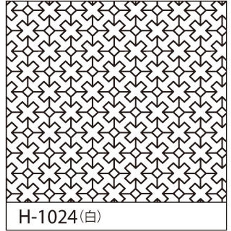 Sashiko Sampler Cross Connect H-1024