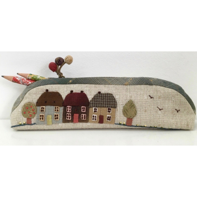 Mathilde's Cottages Pencil Case