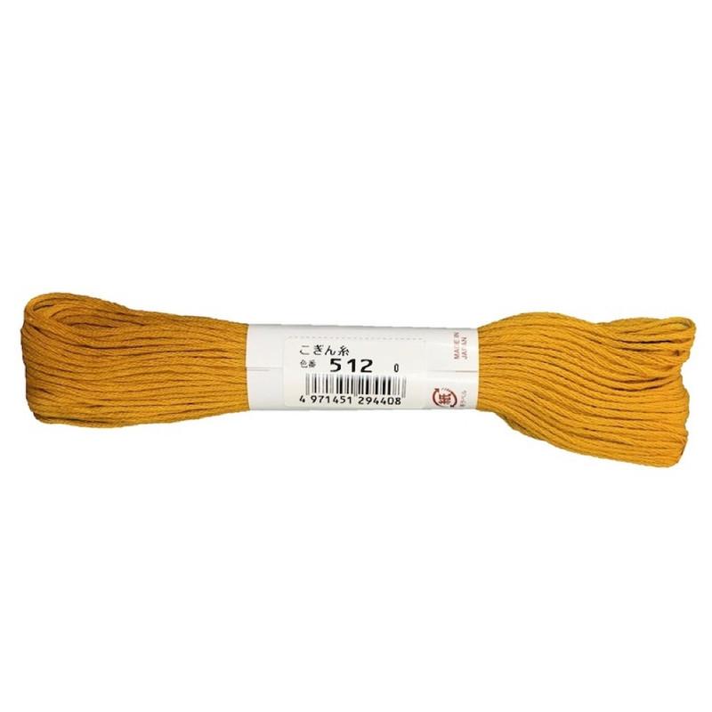 Kogin Thread 18mt Mustard KT-512