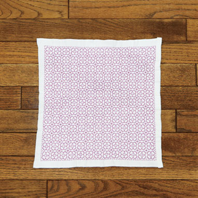 Cherry Blossom One Stitch Sashiko Sampler Kit SK-335