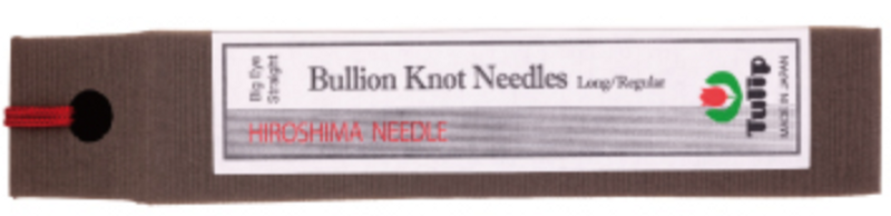 Bullion Knot Needles Big Eye Straight Long/Regular THN-100e