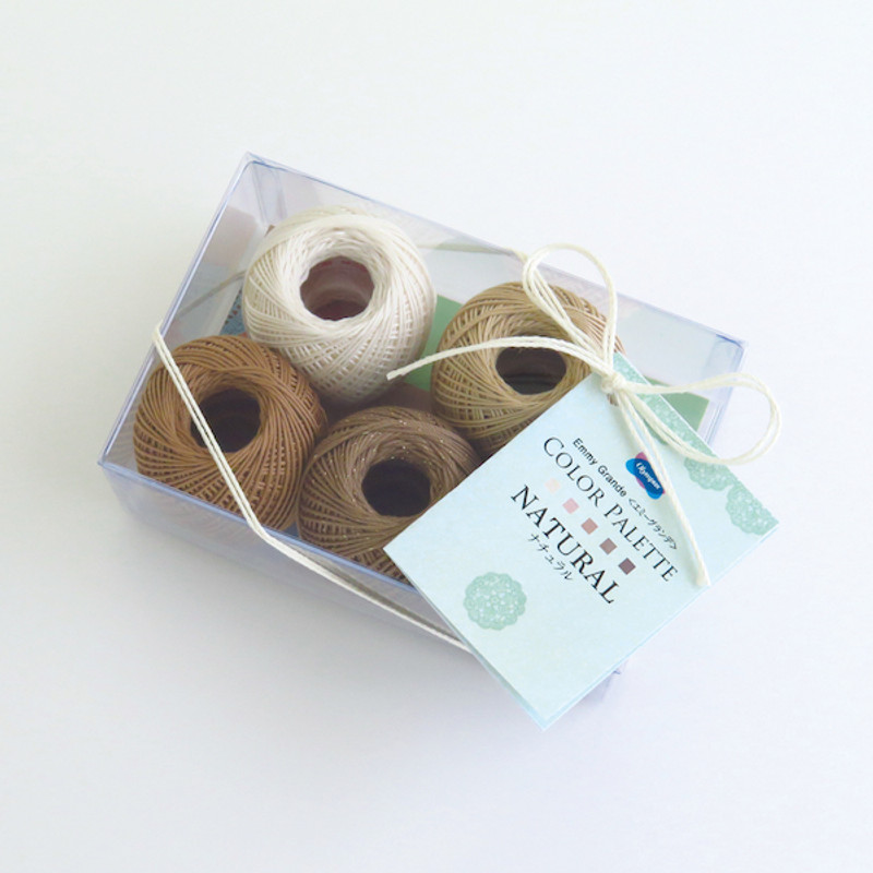 Crochet Thread Emmy Grande Color Palette Natural Pack JAN-079418