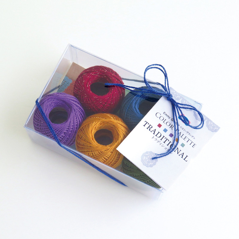 Crochet Thread Emmy Grande Color Palette Traditional Pack JAN-079449