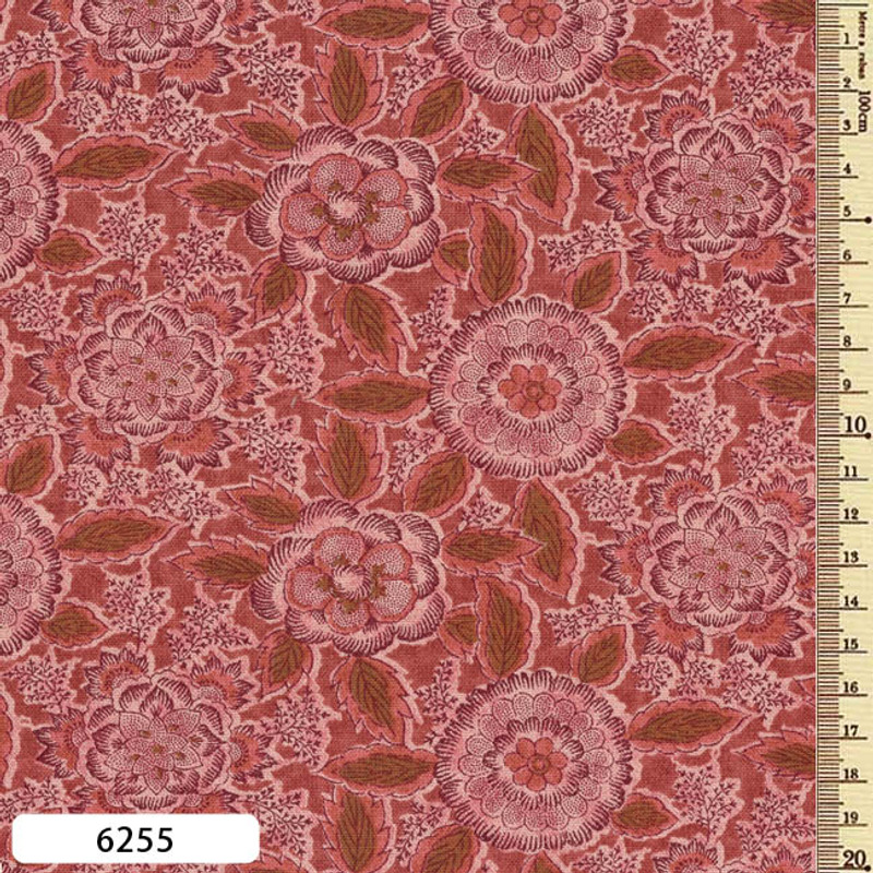 Printed Cotton Fabric Sarasa SAR-6255