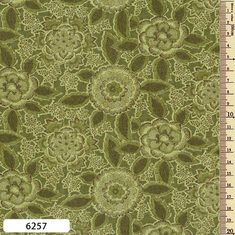 Printed Cotton Fabric Sarasa SAR-6257
