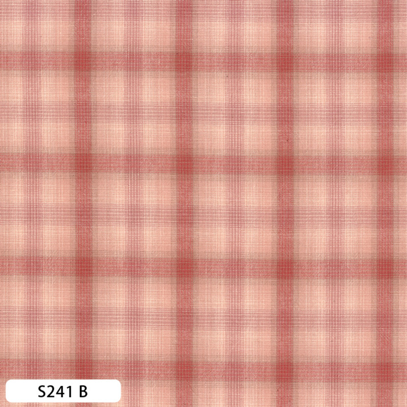 Sakizome Momen Fabric Checks S241B