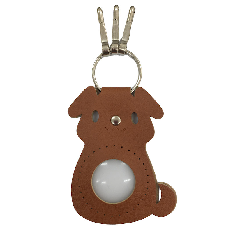 Dog Keyring Brown BA-20S-7