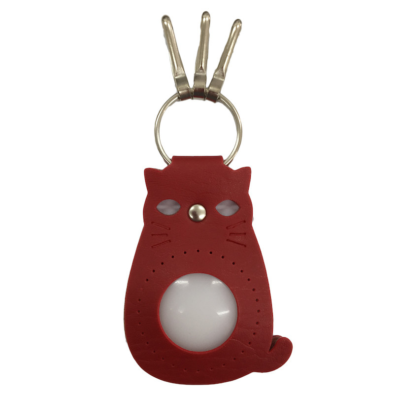 Cat Keyring Red BA-17S-2